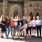 Ausflug der Jugendlichen nach Prag