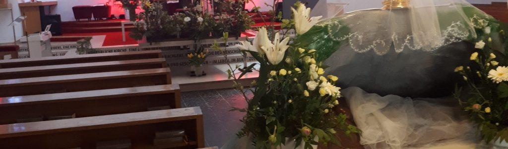 11. 4. 2020 Kirche, Vorbereitung für Ostern (26)